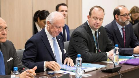 'No tangible progress' on Syria constitution, UN envoy says