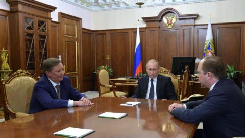 Putin replaces chief of staff in rare move