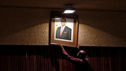 Zimbabwe's governing ZANU PF meets to seal Mugabe's fall from grace