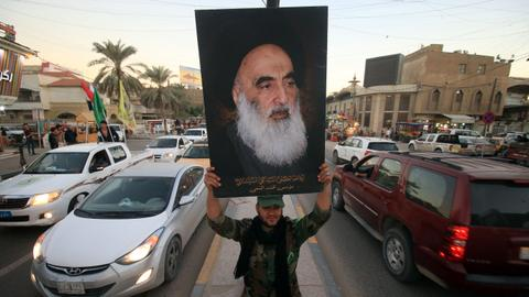 Why Ayatollah Sistani opposes Hashd al Shaabi to run for Iraqi elections?