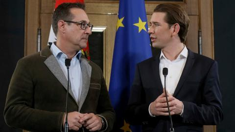 Austria's conservatives form coalition with far-right party