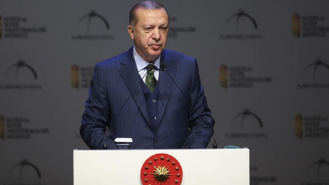 Muslim world faces efforts to reshape it through bloodshed says Erdogan