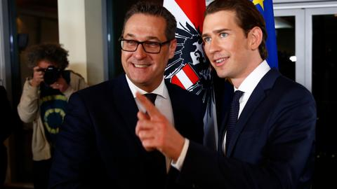 New Austrian government rules out referendum on leaving EU