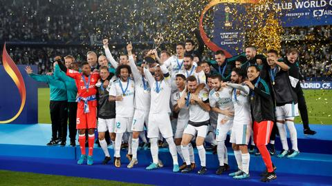 Ronaldo free kick gives Real Madrid another world title