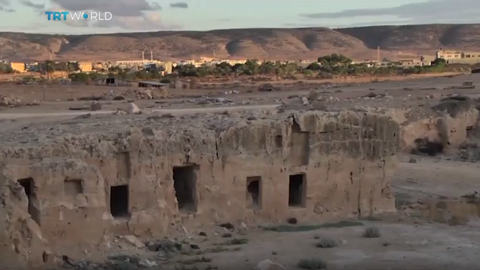 Libyan farmer stumbles upon ancient tombs