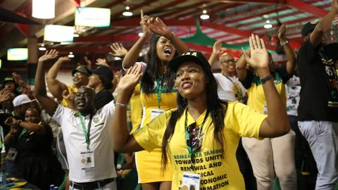 South Africa's ruling ANC announces nominations for party presidency