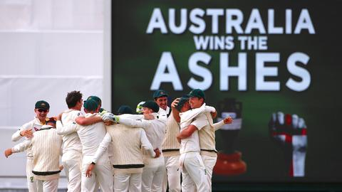 Cricket: Australia reclaim Ashes with demolition of England