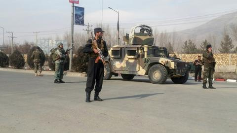 Assault on Afghan intelligence facility ends as gunmen killed