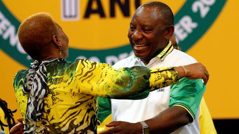 Cyril Ramaphosa elected new leader of South Africa's ruling ANC party