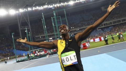 Bolt, Van Niekerk smash records at Rio Olympics