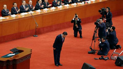 China's legislature almost certain to give Xi free rein