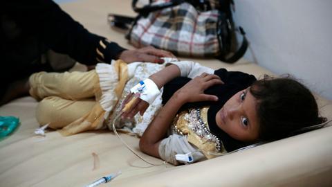 Suspected cholera cases in Yemen hit one million says ICRC