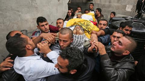 Israeli forces kill two Palestinian protesters in Gaza