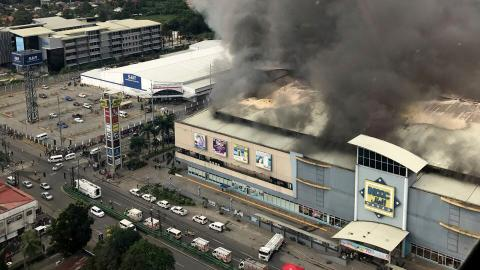 At least 37 people feared dead in Philippine mall blaze