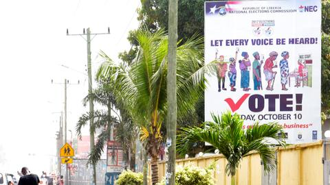 Liberians to choose new leader in delayed presidential vote