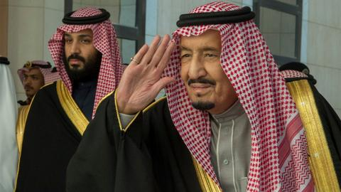 Rumours grow of split between Saudi king and MBS - Guardian newspaper