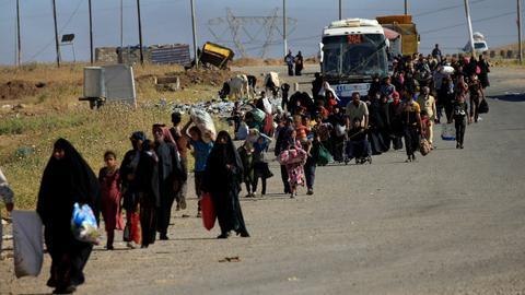 Hardship awaits many displaced Iraqis returning home