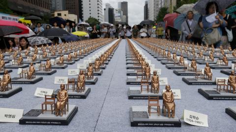 S Korea's Moon calls 2015 'comfort women' deal with Japan 'flawed'