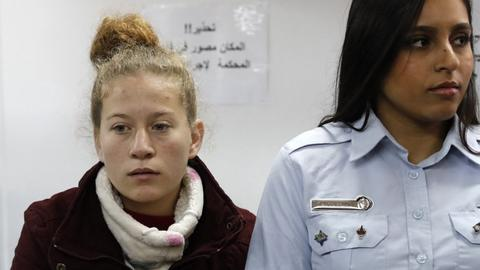 Jailed Palestinian girl to appear in Israeli court