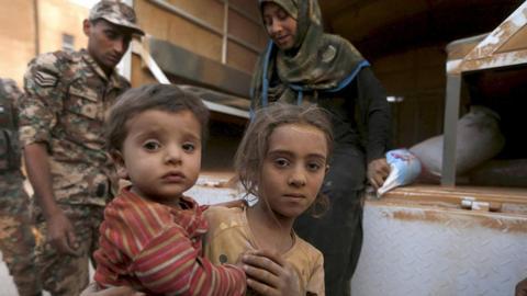 Healing Syrian orphans' mental scars in Jordan