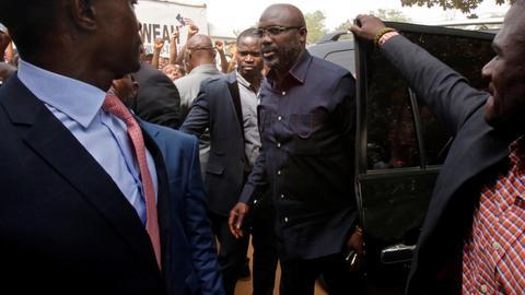 Ex-football star George Weah wins Liberia's presidency