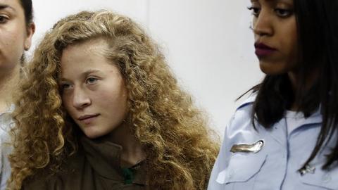 Israeli court extends Palestinian girl's detention