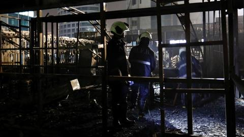 Fire in India's financial capital kills at least 15