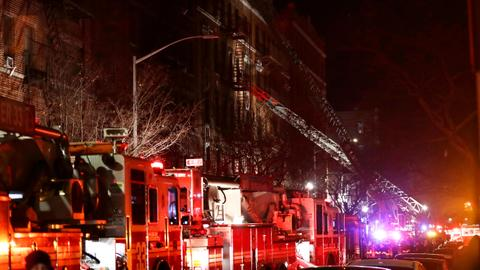 At least 12 people dead in Bronx apartment fire