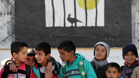 Syrian children in Jarablus slowly return to school, post-Daesh