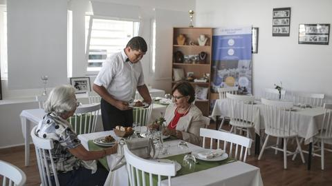Restaurant in Morocco changes perceptions about disability