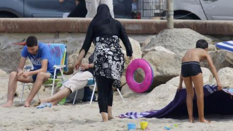 Muslim women fined in Cannes for wearing burqinis