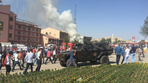 Terror attack kills at least three people in Turkey's Elazig