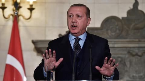 US and Israel should not escalate Jerusalem tensions: Erdogan
