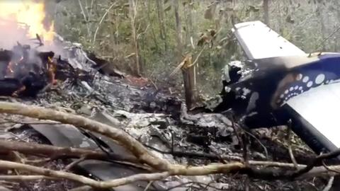 Costa Rican plane crash kills 12, including 10 US citizens