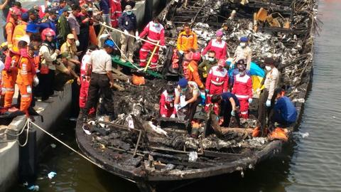 At least eight dead, several missing after boat capsizes in Indonesia