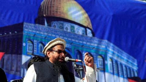 Pakistan reportedly plans to take over charities run by Hafiz Saeed