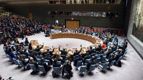 Six countries enter the UN Security Council