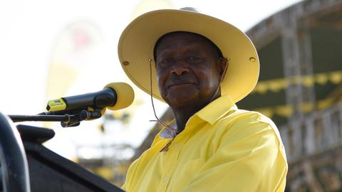 Ugandan leader Museveni signs law removing age cap for president