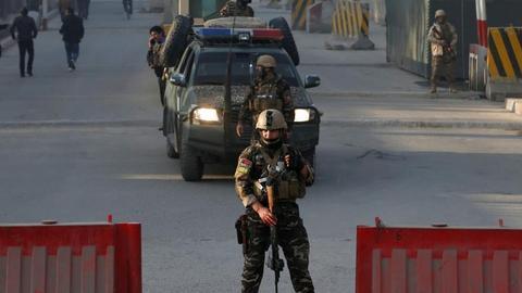 Suicide blast hits Kabul killing at least 20