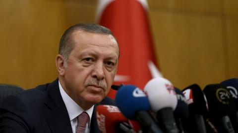 Erdogan slams US over Turkish banker case