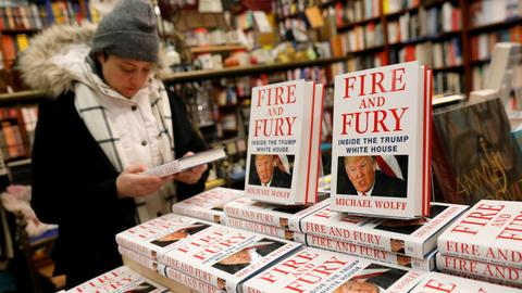 Wolff is 'in every way comfortable' with Trump book