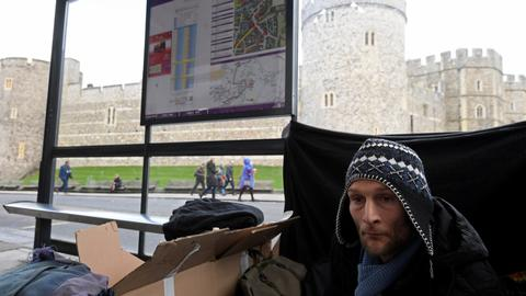 Planned crackdown on homeless before UK royal wedding sparks debate