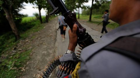 Rohingya rebels say they have no option but to fight Myanmar