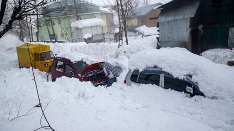 Avalanche in Indian-administered Kashmir kills 11 people