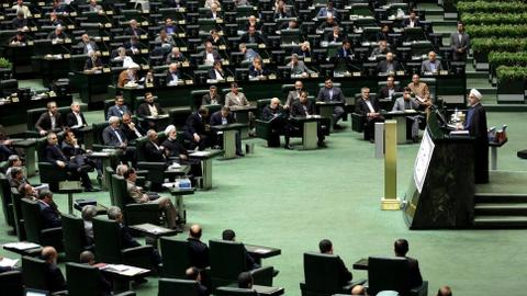 Iran's parliament holds special session on anti-government protests