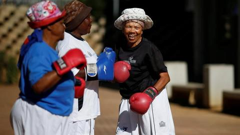 South African grannies are fighting old age with boxing
