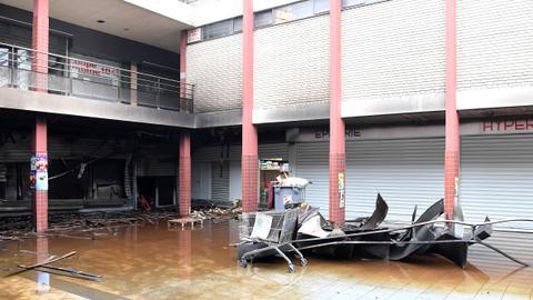 Kosher market in France burns down on arson attack anniversary