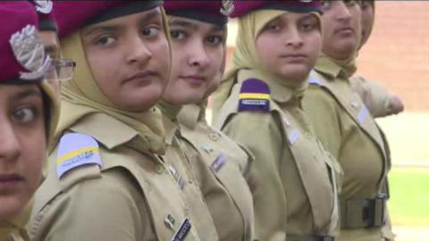 Pakistan's first cadet college for girls training future leaders
