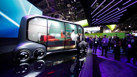 Autos overshadow gadgets at world's largest electronics show