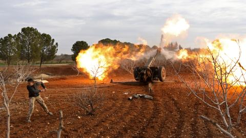 Syrian rebels launch counter attack in Idlib province